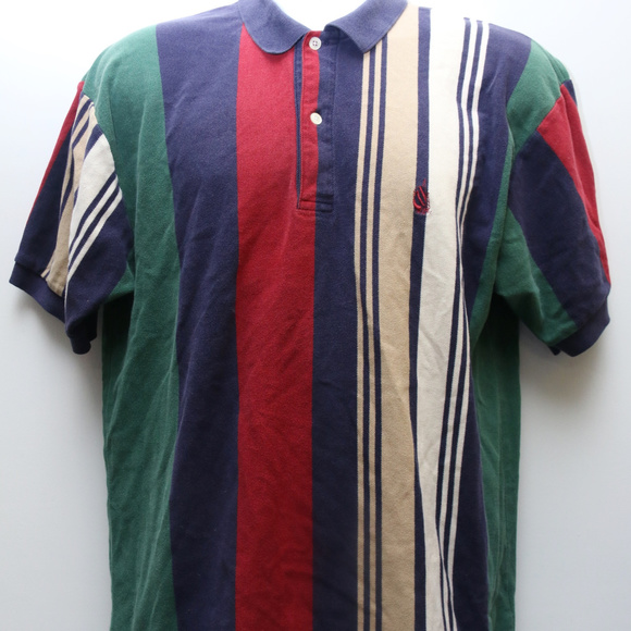 e5392eb92 Nautica Shirts | 90s Vintage Shortsleeve Color Block Shirt | Poshmark